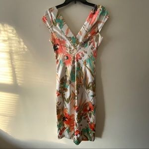 Maggy London floral Dress.